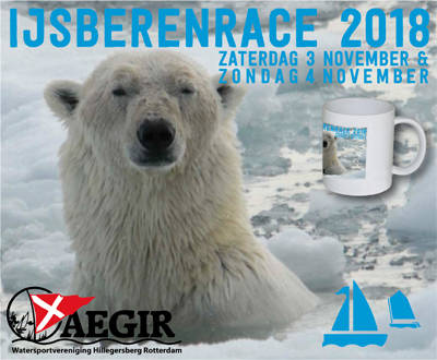 Zeilcompetitie IJsberen Race 2018